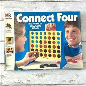 Vintage Milton Bradley Connect 4 Game Family